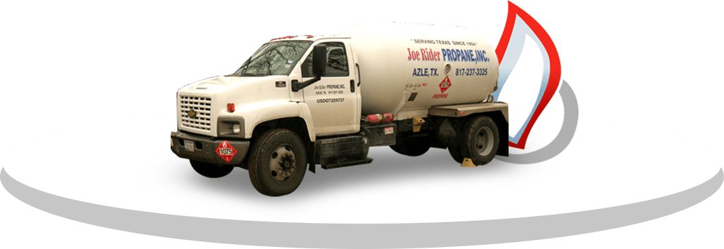 Joe Rider propane truck