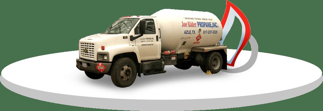 Joe Rider propane truck