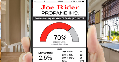 Joe Rider Propane App