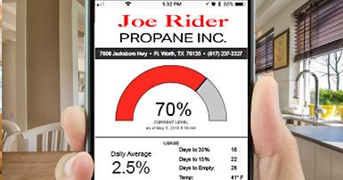 Joe Rider Propane App